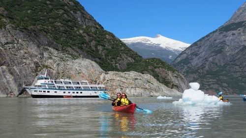 Seven-day Alaska journey: More adventure, less ship - Los Angeles Times