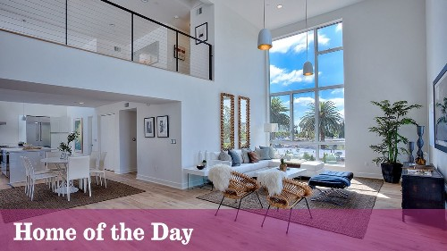 Home of the Day: Loft-style living in West Hollywood - Los Angeles Times
