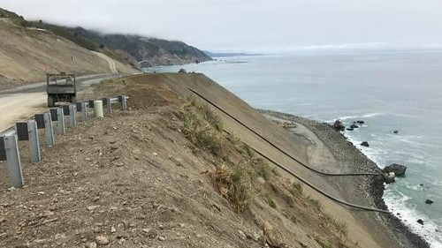 Big Sur road coming back: Highway 1, closed for a year and a half because of massive slide, to reopen by July