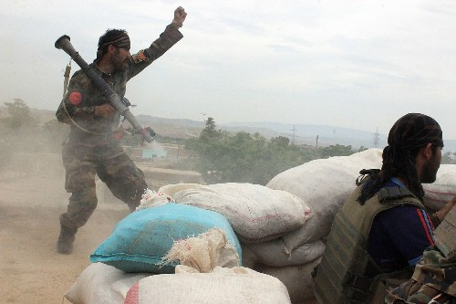 The Taliban's spring offensive is on, but Afghan forces make gains near strategic city