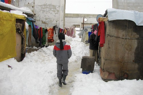 Syria refugees' lives turn more precarious in Lebanon amid deadly storm