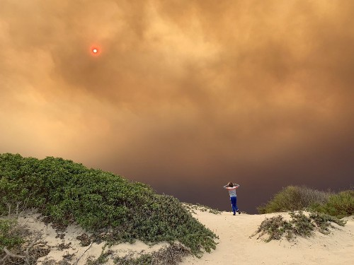 California is burning. These photos capture the path of destruction - Los Angeles Times