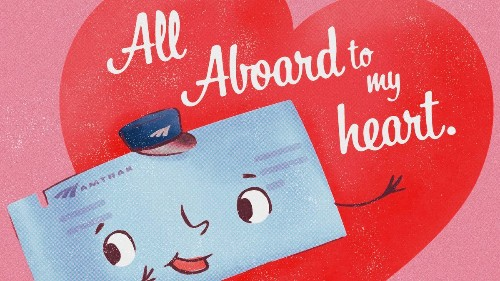 Amtrak's Valentine's Day sale lets you buy one ticket, get one free