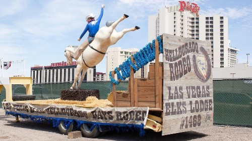 Las Vegas rodeo and parade celebrate city's Wild West roots
