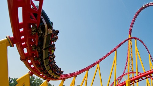 Top 10 roller coasters at Virginia's Kings Dominion