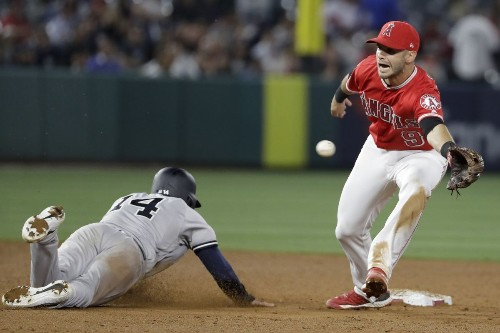 Angels' woes continue in loss to delepted Yankees