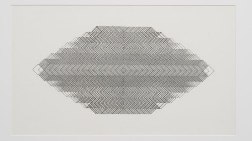 Review: Channa Horwitz's geometric abstractions show that nothing is truly random