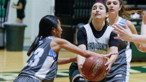 Providence girls' basketball outlasts Crescenta Valley