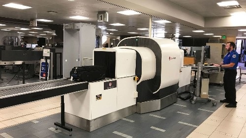 TSA and American Airlines test a new screening device for carry-on bags