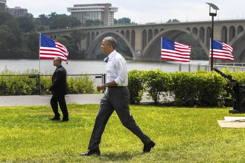Obama says replenishing Highway Trust Fund would be patriotic