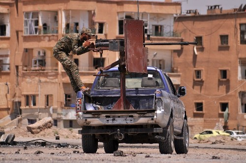 Turkey and the U.S. join forces in fight for 'Islamic State-free zone' in Syria - Los Angeles Times