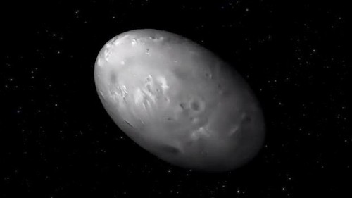 Moons tumble and wobble chaotically in the strange, distant Pluto system