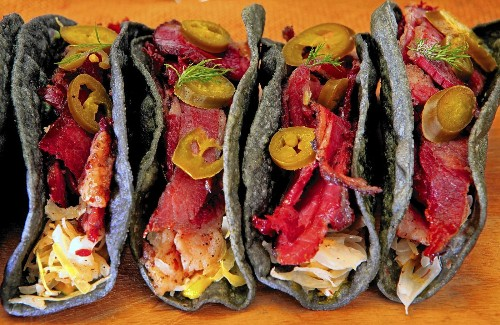 You need to make these pastrami tacos for dinner tonight - Los Angeles Times