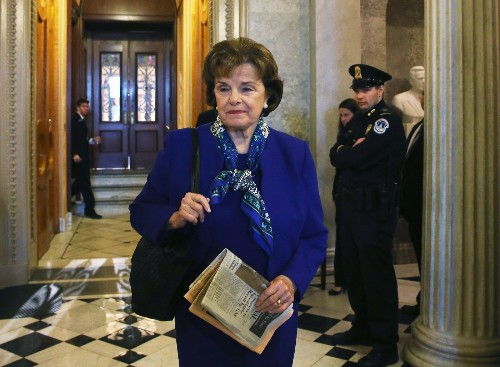 In abortion debate, Feinstein evokes 'small step for womankind'