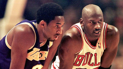 Kobe Bryant, who was almost a Bull, has fond memories but no more rivalry with Michael Jordan - Los Angeles Times