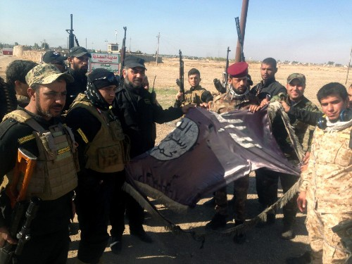 Iraq army, allies reclaim towns from Islamic State