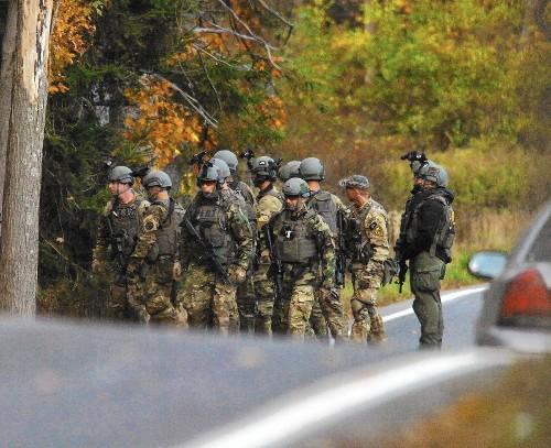In Pennsylvania woods, Eric Frein eludes a massive manhunt