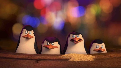 'Penguins of Madagascar' hit by a blizzard of puns