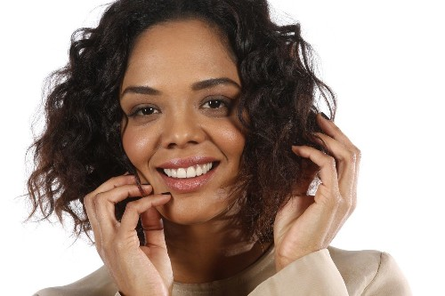 Tessa Thompson welcomed the challenges of playing a hearing-impaired musician in 'Creed'