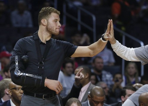 Clippers' Blake Griffin needs time to heal — completely