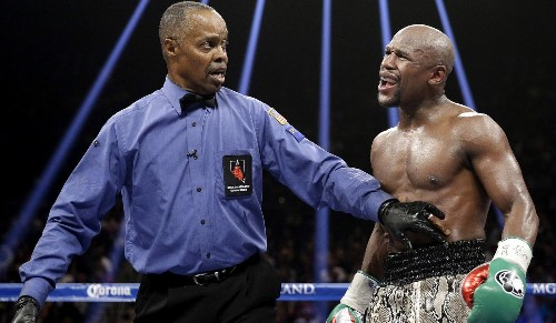 Mayweather-Pacquiao referee will earn $25,000, judges $20,000 apiece