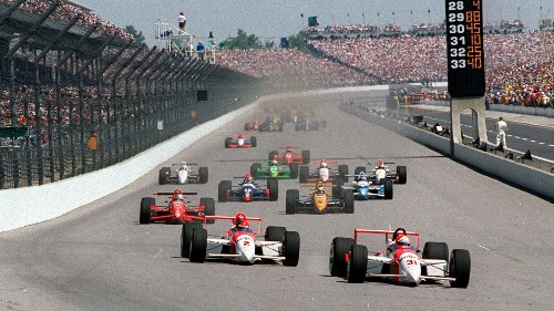 The start of the Indianapolis 500 is unique, thrilling and dangerous