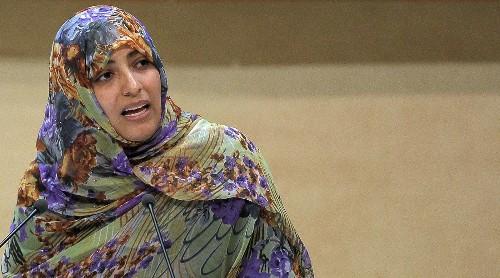 Nobel winner Tawakul Karman of Yemen denied entry to Egypt - Los Angeles Times