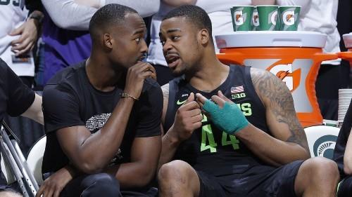 College basketball: No. 11 Michigan State overcomes loss of Nick Ward to beat Ohio State
