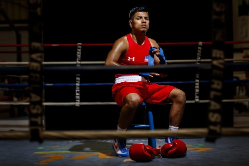 A father's tough love mixed with a son's talent puts boxer Carlos Balderas in the Olympics - Los Angeles Times