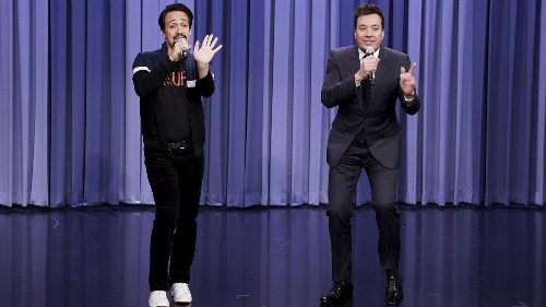 Jimmy Fallon teams with Lin-Manuel Miranda for Puerto Rico episode of 'Tonight Show' - Los Angeles Times