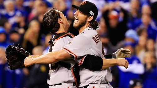 Giants beat Royals in Game 7 for third World Series title in five years
