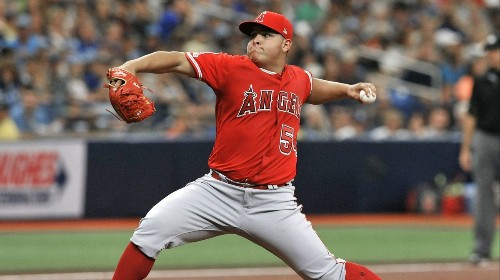 Jose Suarez continues to cement his place in Angels' starting rotation