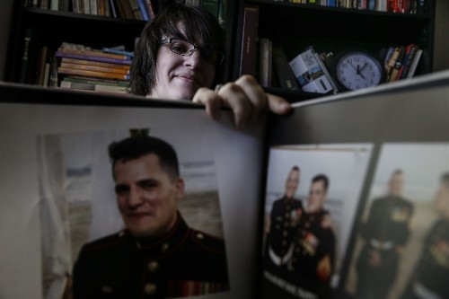 A proud member of the military as a man, and maybe once again as a woman - Los Angeles Times