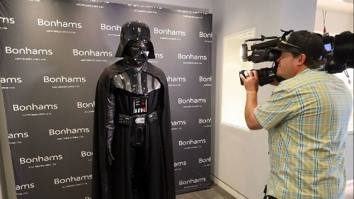 A Rebellion twist? 'Star Wars' Darth Vader costume withdrawn from Bonhams auction