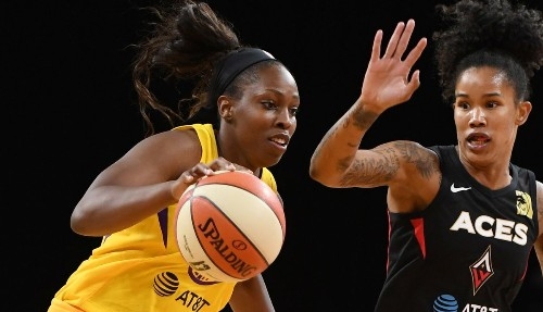 Sparks guard Chelsea Gray selected to third WNBA All-Star game