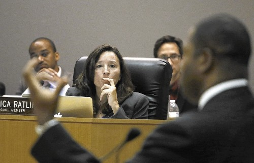 L.A. school board member Monica Ratliff is on a new learning curve
