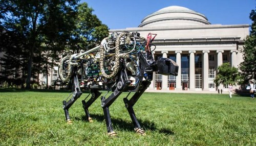 Watch it run! MIT's new robotic cheetah can even leap over hurdles