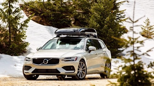 Auto review: Volvo's 2019 V60 wagon handles snowstorms like a champ
