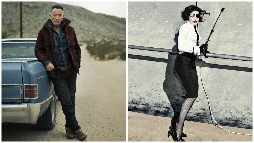 Review: Bruce Springsteen and Madonna strike a pose, with varied results, on new albums