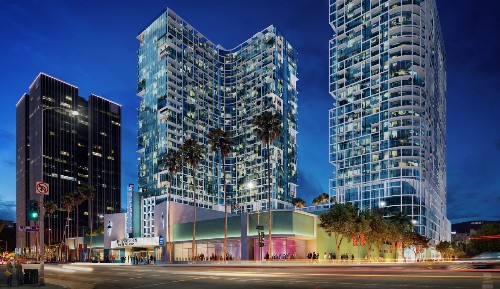 AIDS nonprofit sues L.A. over planned Hollywood towers - Los Angeles Times