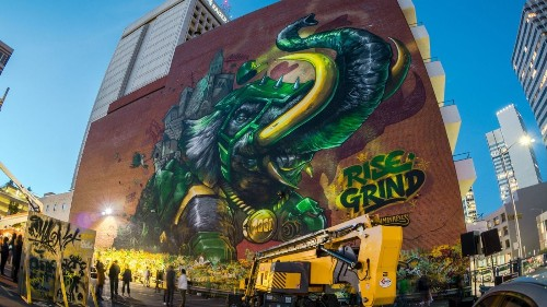 Oakland's street art scene is vibrant. New works will be created during city's first Mural Festival
