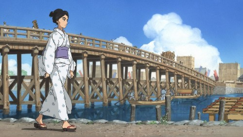 'Miss Hokusai' is a sumptuous, sensuous animated work of art