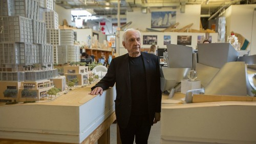 Frank Gehry at 90: Aging, music and the one building he most wants to design