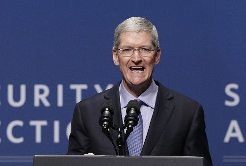 Without naming names, Apple CEO Tim Cook jabs firms selling user data