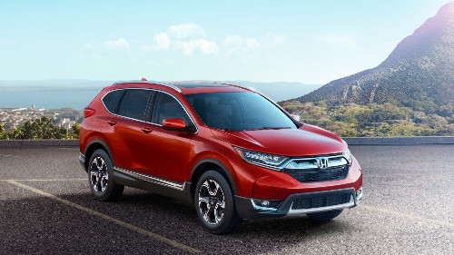 Honda's CR-V, the country's best-selling SUV, gets turbocharged for 2017
