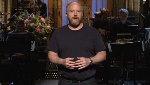 Louis C.K. pushes boundaries during 'Saturday Night Live' monologue