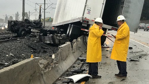 After rainstorm, risk of high winds and fire alert in Southland - Los Angeles Times