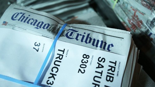 Tribune Publishing gets bids from McClatchy, AIM Media and Donerail - Los Angeles Times