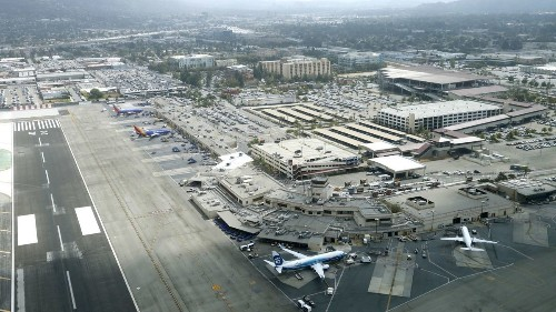 February passenger numbers at Hollywood Burbank Airport come in flat