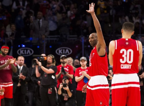 Kobe Bryant's final NBA All-Star game turns into a love fest as West rolls to historic 196-173 victory - Los Angeles Times